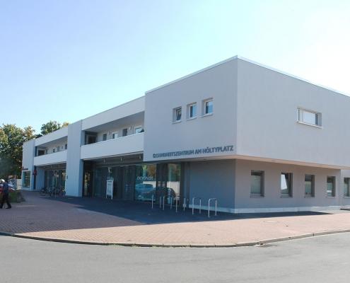 Garbsen Höltyplatz Gesundheitszentrum Büro Schümann Sunder-Plassmann und Partner