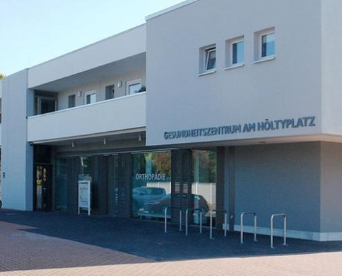 Gesundheitszentrum Höltyplatz Garbsen Hannover Büro Schümann Sunder-Plassmann und Partner