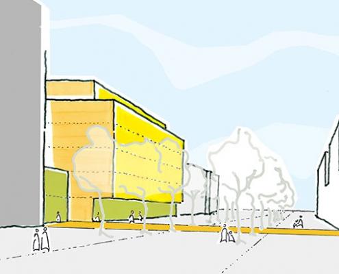 UKE Gesundheitszentrum Neubau Büro Schümann Sunder-Plassmann und Partner