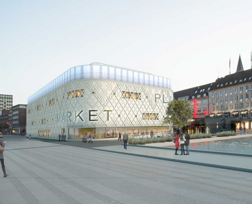 Kiel Fassade Primark Büro Schümann Sunder-Plassmann und Partner