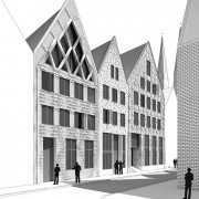 Gründungsviertel Neubau Lübeck Büro Schümann Sunder-Plassmann und Partner